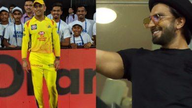 Photo of जब धोनी की टीम को सपोर्ट करने वानखेड़े स्टेडियम पहुंच थे रणवीर सिंह, देखें वीडियो