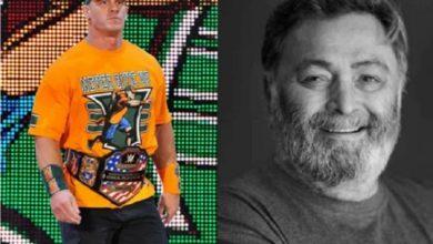Photo of WWE सुपरस्टार जॉन सीना ने बॉलीवुड के दिग्गज अभिनेता ऋषि कपूर को श्रद्धांजलि दी
