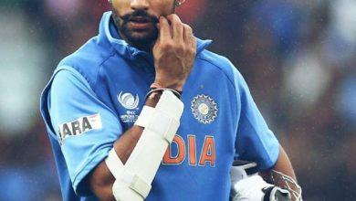Photo of फ्रैक्चर के बाद भी मैं विश्वकप के मैच में बल्लेबाजी करता रहा- शिखर धवन