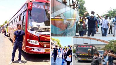 Photo of सानिया, साइना ने प्रवासी श्रमिकों के लिए बसों की व्यवस्था करने पर सोनू सूद के जज्बे को सलाम किया