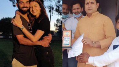 Photo of भाजपा नेता ने, कहा- विराट कोहली देशभक्त हैं, अनुष्का शर्मा को दें तलाक