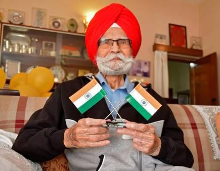 Hockey icon Balbir Singh Sr