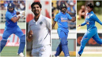 Photo of खेल रत्न के लिए रोहित शर्मा नॉमिनेट, अर्जुन अवॉर्ड के लिए ईशांत शर्मा, शिखर धवन और दीप्ति शर्मा नामांकित