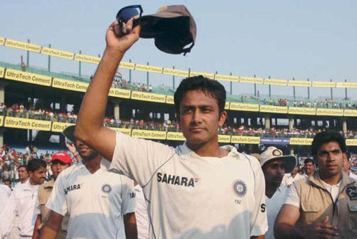 अनिल कुंबले टेस्ट क्रिकेट