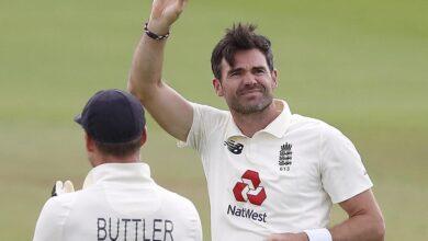 Photo of जेम्स एंडरसन टेस्ट क्रिकेट में 600 विकेट लेने वाले पहले तेज गेंदबाज बनें