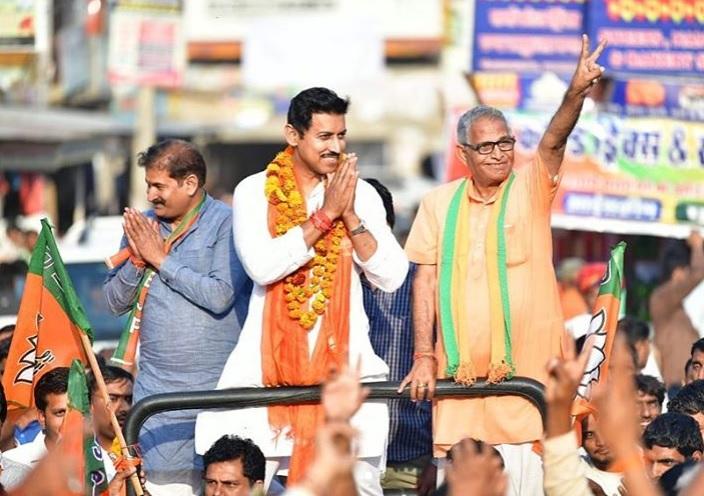 राज्यवर्धन सिंह राठौड़ वर्तमान में  जयपुर ग्रामीण सीट से भाजपा सासंद है।