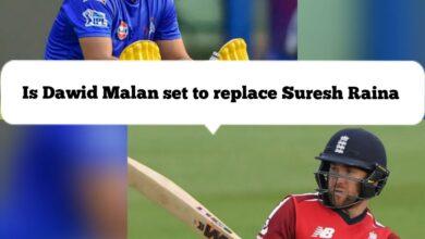 Photo of IPL2020 : सुरेश रैना की जगह ले सकते हैं डेविड मलान
