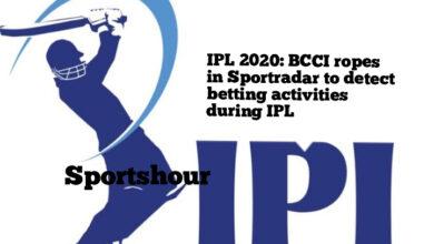 Photo of IPL के दौरान सट्टेबाजी की गतिविधियों का पता लगाने के लिए BCCI ने स्पोर्टरडार के साथ किया करार