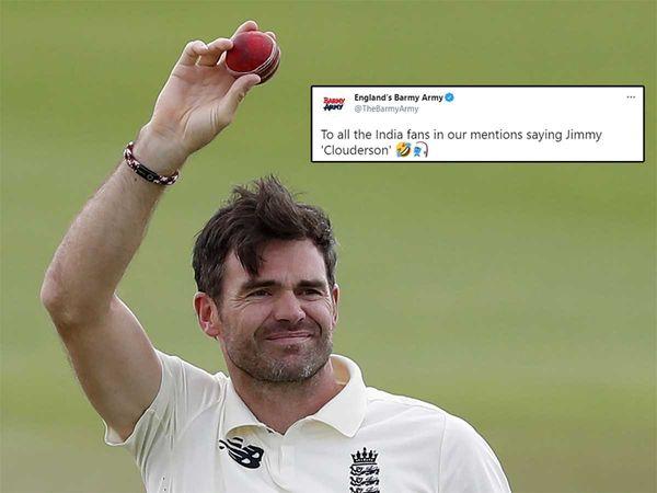 Photo of Video: इंग्लिश बार्मी आर्मी का भारतीय टीम पर तंज कसना पड़ा महंगा! भारतीय क्रिकेट फैंस ने दिया मुंहतोड़ जवाब..