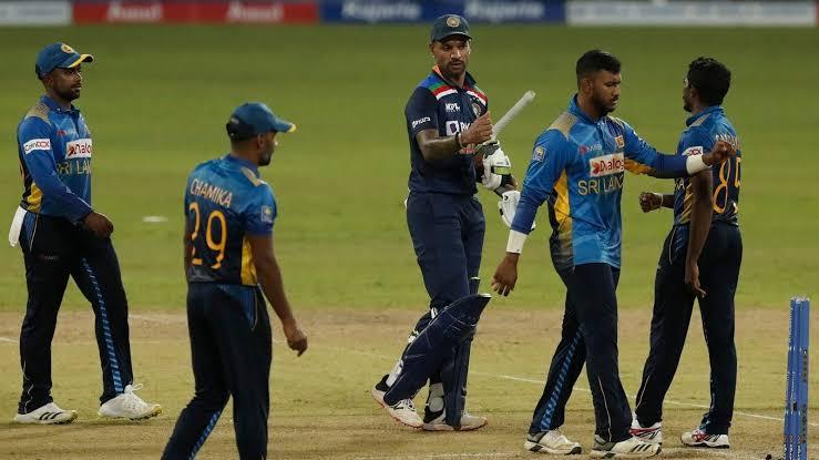 भारत और श्रीलंका का मुकाबला